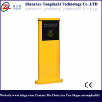 100W motor power full automatic driveway boom barrier gate for parking lot