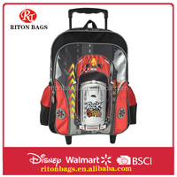 Top Seller Top Quality Humanized Design Wholesale Kids Trolley Backpack Bag for Boys