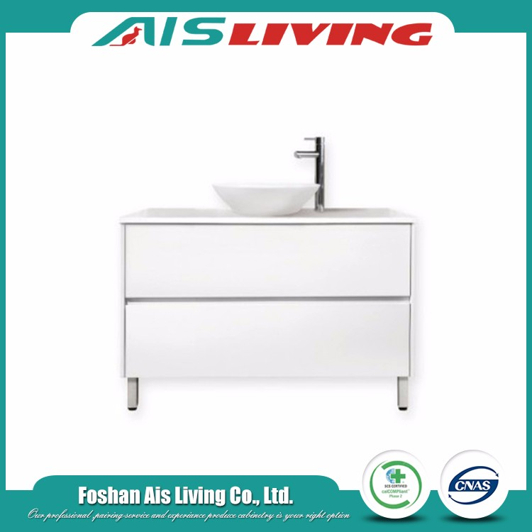 Chinese mdf furniture cheap bathroom vanity sets