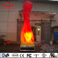 flowing inflatable air flame dancer