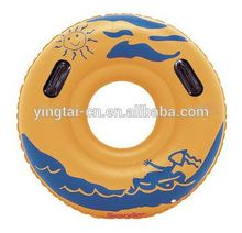 customized swim ring inflatable pool floating tube for adult