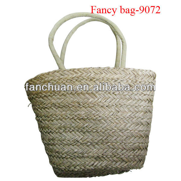 Cheap make straw beach bag for girls