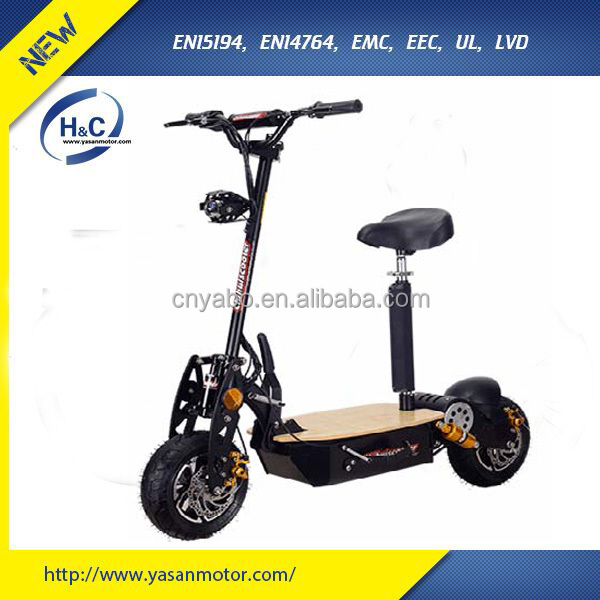 Fashion 2 wheel 48V 1500W EVO electric scooter for adults with 2 years warranty