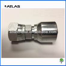 Swaged hose fitting crimp ferrule hydraulic