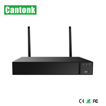 Cantonk 4ch wireless wifi nvr network video recorder