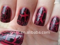 2012 Crackle Nail Polish no labe