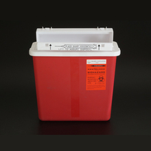 Medical Sharps Container 5QT Red /Yellow Color