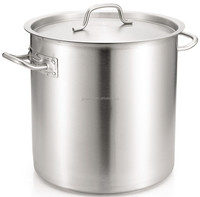 stainless steel stock pot with sandwich bottom &lid/commercial cookware/industrial cookware