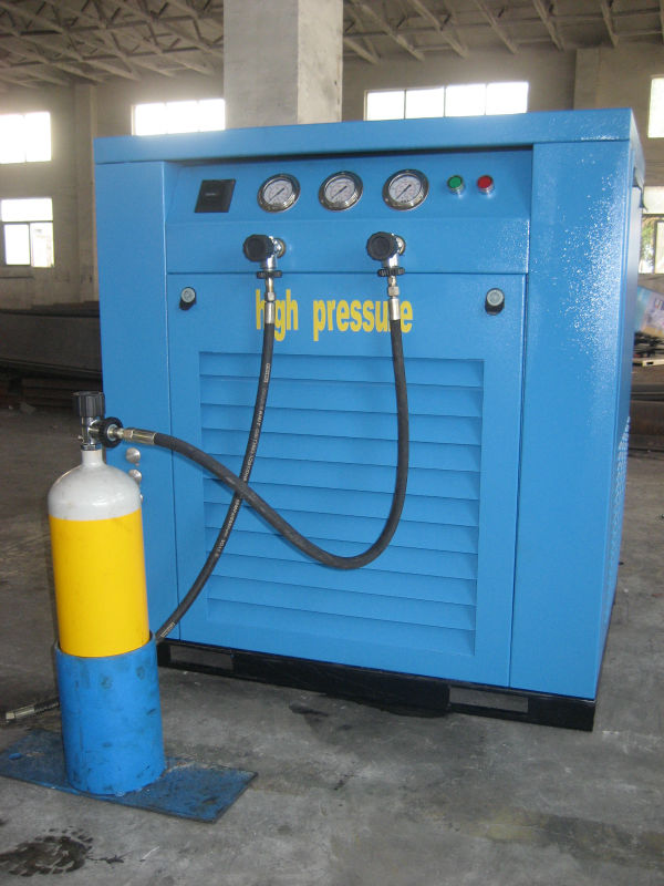 DMC 100cfm 3m3/min diesel compressor with tank