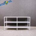Vittsjo Tv Unit Tv Stand White Black Steel For Tv'S Up
