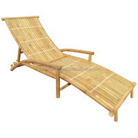 BLG608 - Indoor Bamboo Relax Lounger
