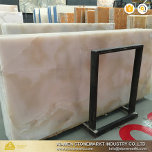 StoneMarkt Luxury stone pink white onyx marble for hotel adornment