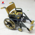 Plastic Wheelchair Model, Custom Wheelchair Toy , PVC Products Supplier