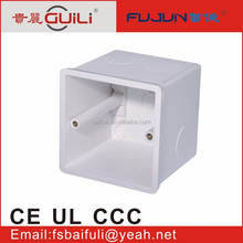 high teck cellophane window gift boxes electrical wiring trunking solt box conduit box