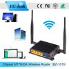 4antenna 300mbps openwrt 3g module wireless router in car with PCIE port