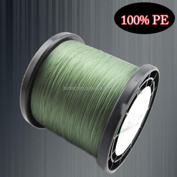 Super quality 0.20mm yellow color fishing line PE material