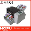 HOPU automatic pvc card die cutter a3 automatic business card cutter
