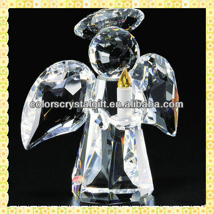 Exquisite Clear Small Crystal Angel For Wedding Souvenirs