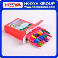 24pcs cheap stationery multi color promotion wholesale Kids Crayon