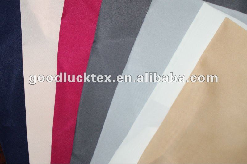 100 polyester pongee lining fabric for clothing