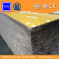 WQ high glossy uv mdf board / panels 8mm-18mm melamine paper coated