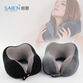 Premium comfort folding adjustable Travel Neck Pillow With removable cover