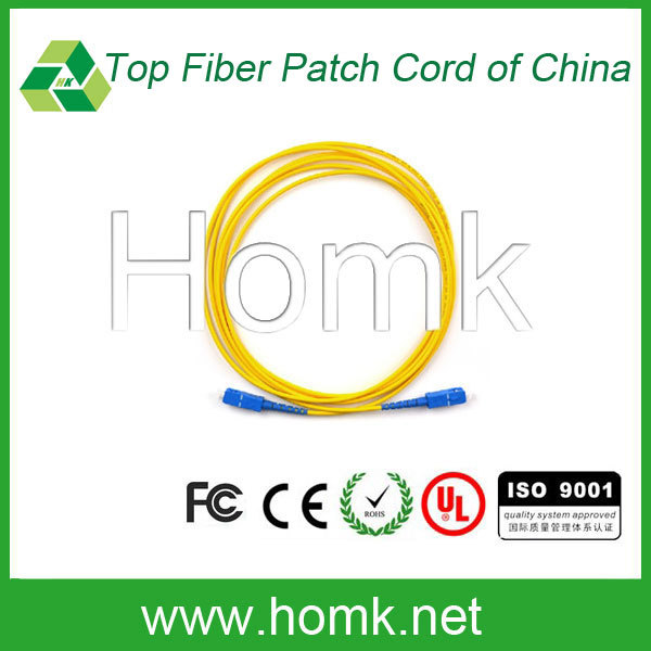 Hot selling SC optical patch cord,SC 3m optical patch cord,polishing jig for SC optical fiber patch cord