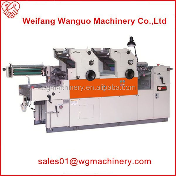 WG 2 color solna offset printing machine