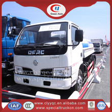 China new stainless steel small 5000 liter water tank truck