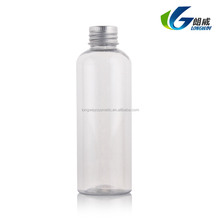 100ml Plastic Colorful PET Lotion Bottle with Aluminium Screw Cap for Personal Care cosmetic China Supply