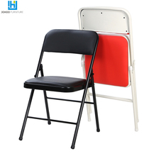 JOHOO Furniture Heavy Duty Metal Plastic Folding Chair Commercial use