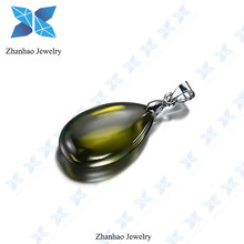 2015 new design fashion jewelry pendant with cubic zirconia stone price