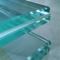 hot sale laminated glass, architectural, parapet wall glass with high quality