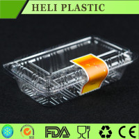 new style plastic PP box double blister for cake, disposable cake plastic box