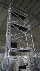High quality mobile tower construction platform aluminum scaffoldings