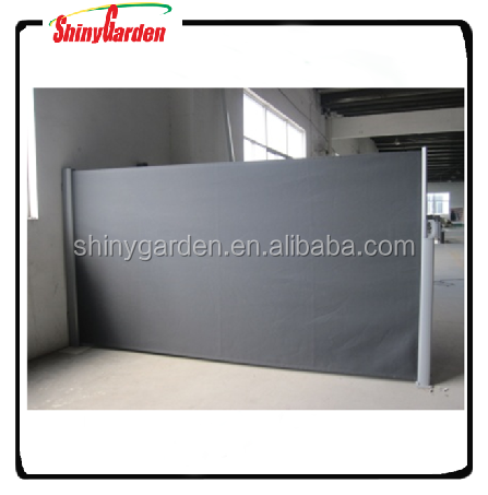 retractable screen, roller screen, side screen