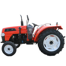 small agricultural tractor with back hoe for tractor