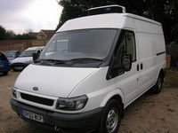 FORD TRANSIT REFRIGERATED VAN