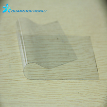 China soft thin PVC decorative plastic transparent film in roll or sheet