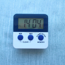 Small digital countdown kitchen timer