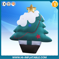 2015 factory price Christmas inflatable tree for Christmas decoration
