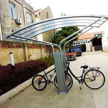 Portable Floor Mounted Bike Shelter Bike Stand Shelter/ Cycle Shelter (ISO Approved)