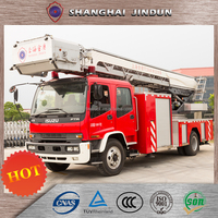 Customized 4x2 Drive Aerial Ladder Fire