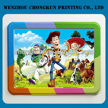 3d lenticular plate mat promotional kids place table mats custom printed placemat