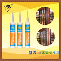 High Quality Adhesive Stainless Steel Door & Window Silicone Sealant clear Concrete brick ceramic