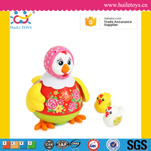 2016 Huile kid dancing chicken toys with music