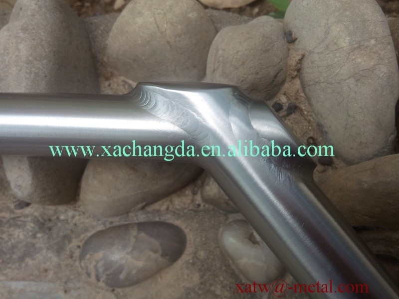 titanium BMX frame use handle bar titanuim BMX handle bars custom bike handle bar
