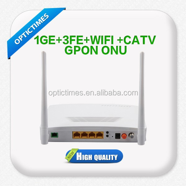 Optical Network GEPON fiber wifi ONU