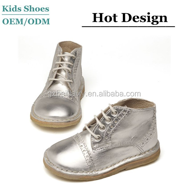 Custom kids leather shoes guangzhou kids shoes factory manufacturers china