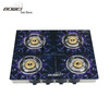 2016 china high-effective durable grateful ideal enjoyable tempered glass top 4 burner gas stove cooker
